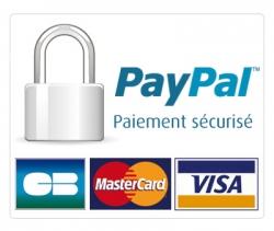 paiement paypal 100% sécurisé